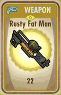 FoS Rusty Fat Man Card