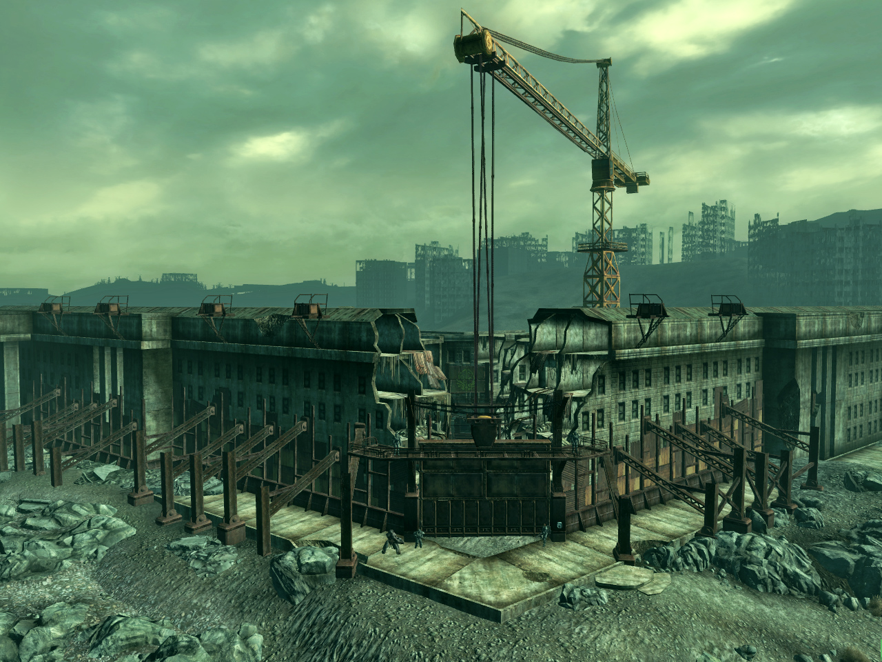 Fallout  Building Is The Citadel