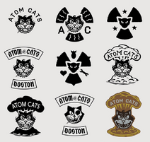 Art of Fallout 4 (Atom Cats logos)