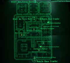 Fo3BS launch platform base map