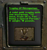 FB8 Trophy of Recognition