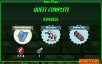 FoS Fons Vivus rewards