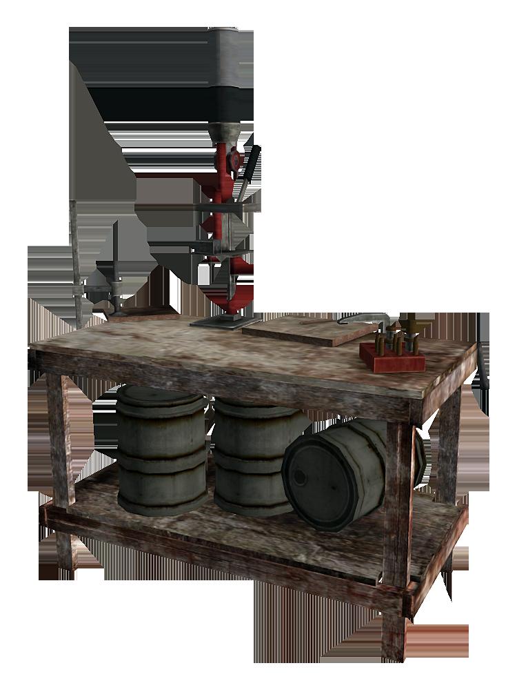 Reloading Bench Fallout Wiki Fandom Powered By Wikia