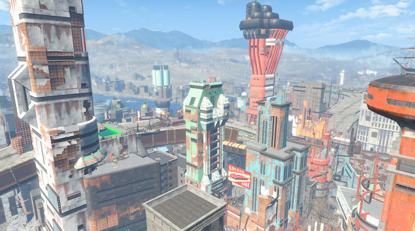 Financial district fallout wiki fandom powered by wikia - Fallout new vegas skyline ...