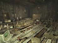 Gibsons shack interior
