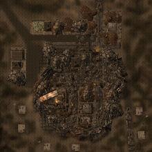 Boulder City ruins map