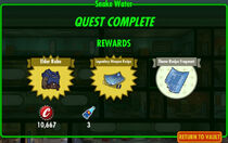 FoS Snake Water rewards