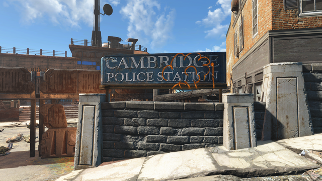 File:FO4 Cambridge Police station exterior 1.png
