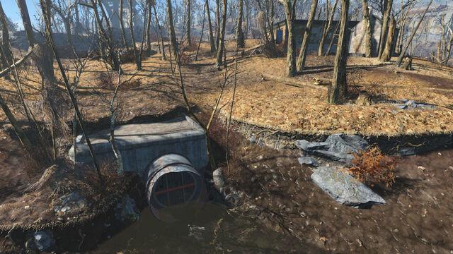 File:Walden Pond sewer entrance.jpg