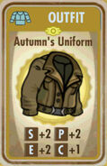 FoS Autumn's Uniform Card