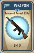 FoS Enhanced Assault Rifle Card