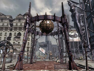 Fallout 3 Interplay logo monument