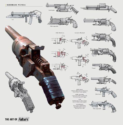 File:Art of Fallout 4 pipe gun.jpg