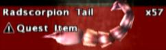 FoBoS radscorpion tail