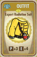 FoS Expert Radiation Suit Card