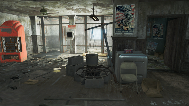 File:FO4 National Guard training yard into recruitment office.png