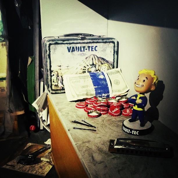 D70 bobblehead shrine