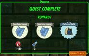 FoS Overrun rewards