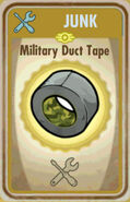 FoS Military duct tape Card