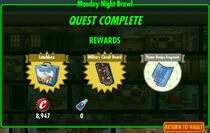 FoS Monday Night Brawl rewards