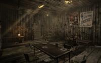Camp FH mess hall interior