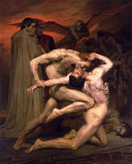 Dante and Virgil in Hell 1850