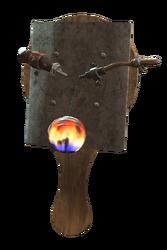 FO4 NW PaddleBall flame