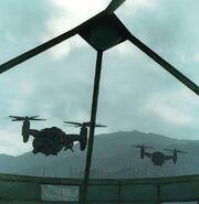 NW-07C Vertabird fly over