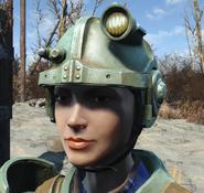 Combat armor helmet