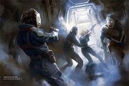 Cryopod abduction scene