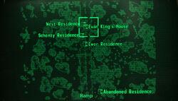 Evan Kings house loc map