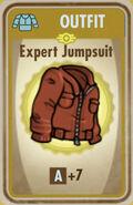 FoS Expert Jumpsuit Card