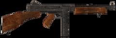 .45 Auto submachine gun