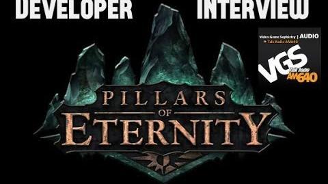 VGS Interview Obsidian's Josh Sawyer Reveals Pillars of Eternity!