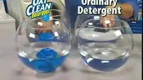 Oxi Clean detergent