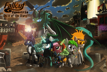 Fallout Equestria Child of the Stars cover YouTube