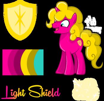 Mlp oc light shield reference by mychelle-d98a6js