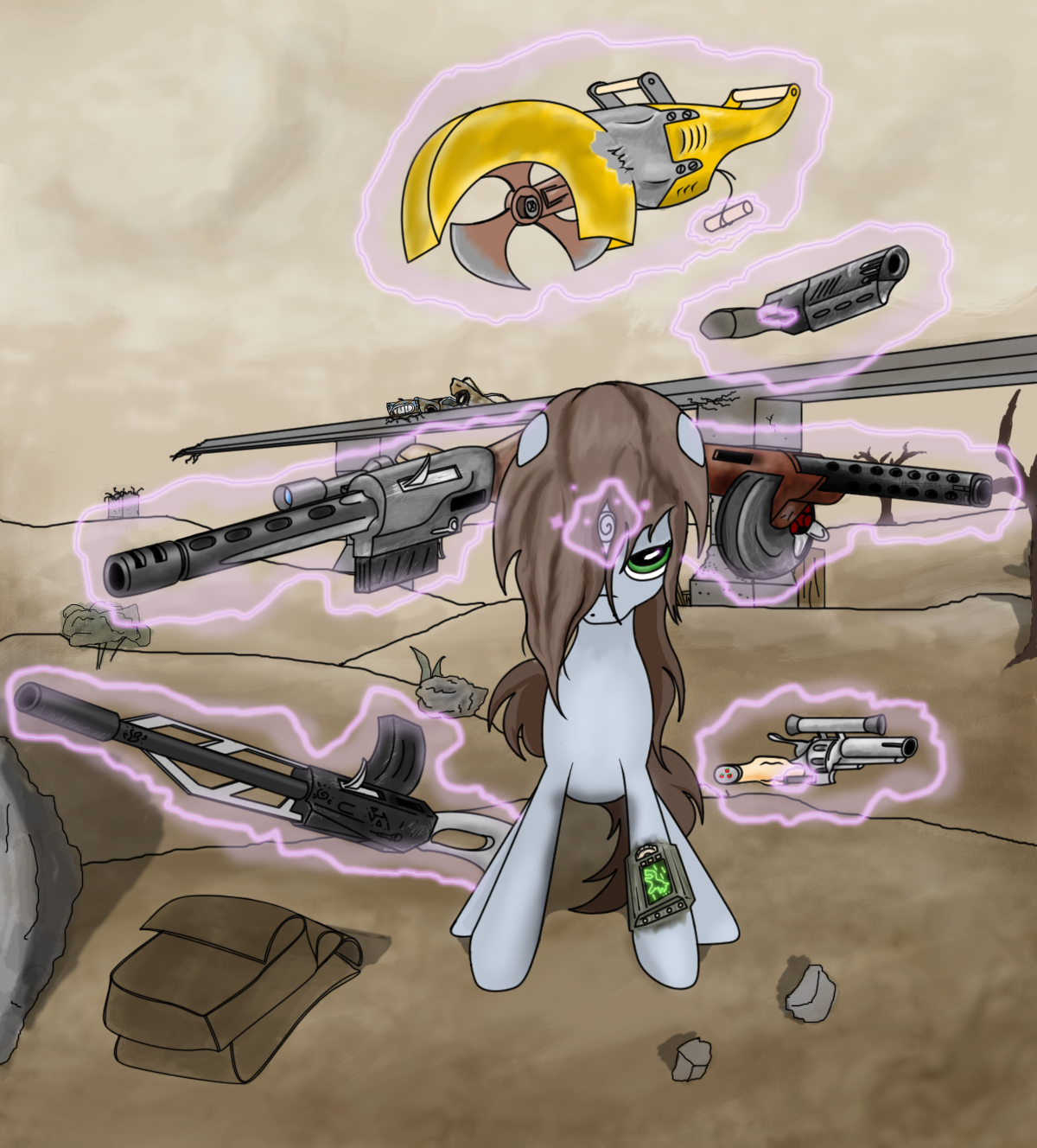 Weapons Fallout Equestria Wiki Fandom Powered By Wikia