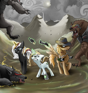 Fallout equestria by felixattchar-d4m7ljs