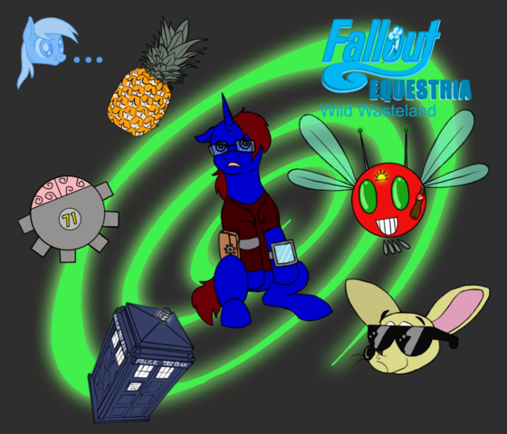 File:Fallout equestria wild wasteland cover by clickclackthebrony-d5i47xo.png