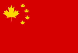 Flag of the People's Republic of Canada