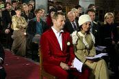 Het huwelijk van Mieke Van den Bossche en Wim Veugelen