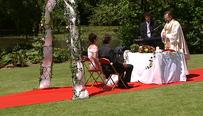 Het huwelijk van Els D'hollander en Jo Bervoets