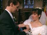 Het huwelijk van Marleen Van den Bossche en Ben Van der Venne