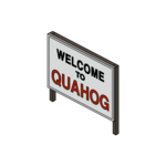 Decoration welcometoquahogsign thumbnail@4x