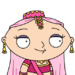 Facespace portrait stewiegriffin bellydancer