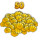 Youearned50clams