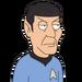 Facespace portrait spock