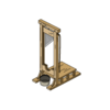 Decoration guillotine