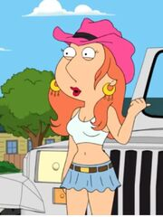Midlife crisis Lois in the show